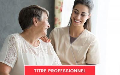 Titre Pro Assistant(e) de vie aux familles