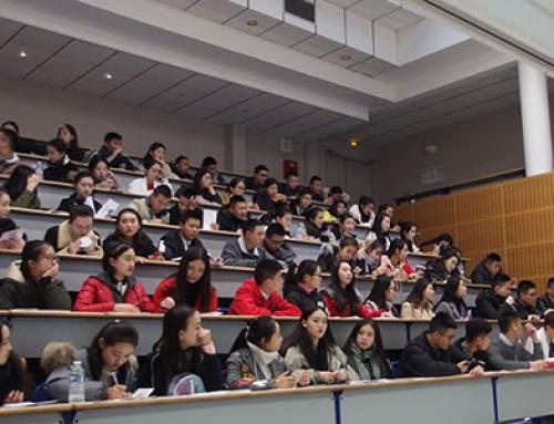 Des étudiants chinois chez Camas