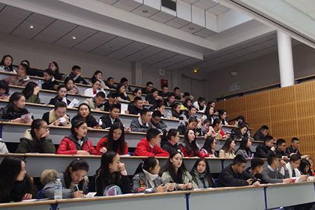Des Etudiants Chinois Chez Camas Camas Formation