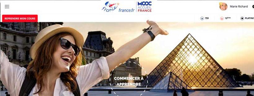 Plateforme MOOC Accueil France
